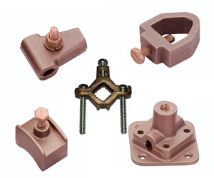 Copper Bronze Grounding Parts